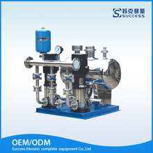 Stainless steel no negative pressure water supply equipment system