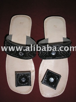 Leather sandal $ 2