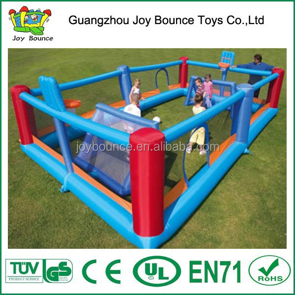 football playground inflatable ,new inflatable soccer field for sale