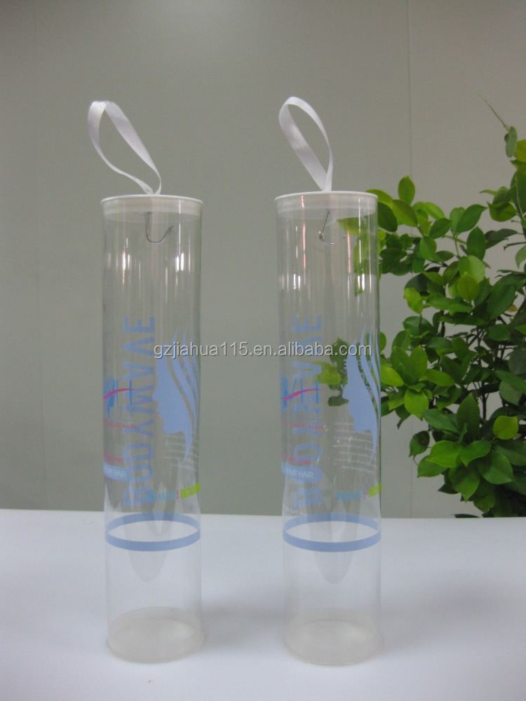 PVC hair packing tube