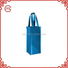 Contemporary top sell velvet wine bag