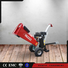 New Condition Log Wood Chipper Machine industrial mobile mini chipper with gasoline engine