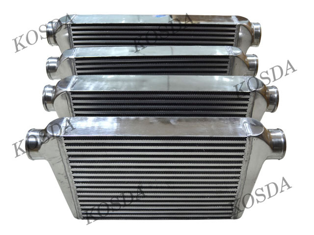 Universal bar and plate intercooler core , turbo intercooler core