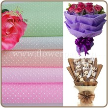Non woven flower wrapping paper manufacturer