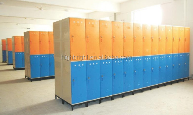 electronic supermarket storage locker for cloak room