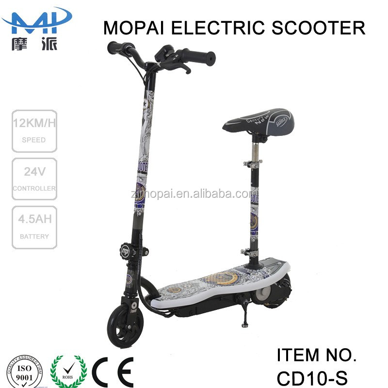 120w motor 24v controller 2 wheel folding electric scooter hot on sale