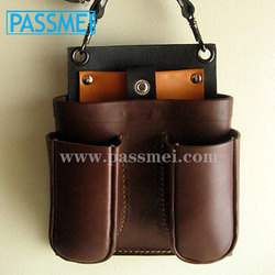 scissor leather case ,hair scissor leather case