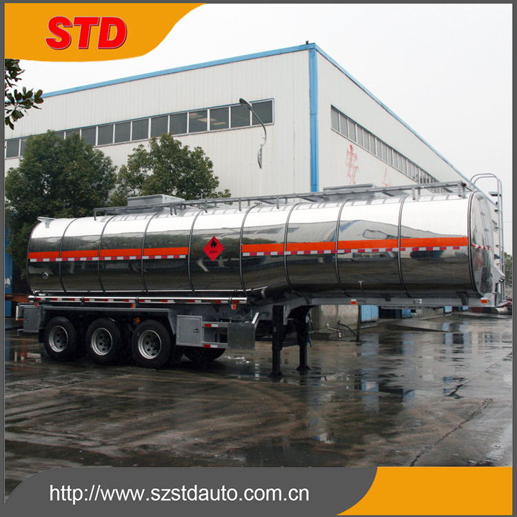 China 33000 liters food grade stainless water tanker manufacturer
