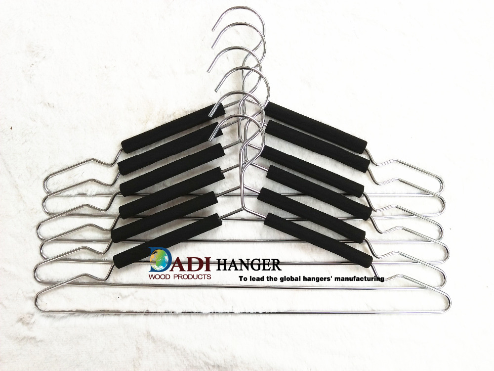 Foam cover metal wire clothes hanger