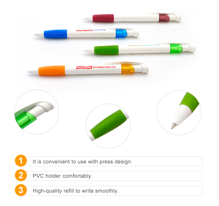 2019 Alibaba China Top Suppliers New Model Colorful Custom Logo Promotional Cheap Ball Point Pen