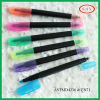 Non-toxic and envirment friendly double tips colored ink chalk marker
