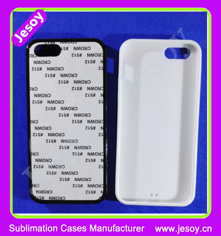 JESOY 2D Sublimation Phone Cases Blanks,Cell Covers For i Phone 6 Sublimation Cases
