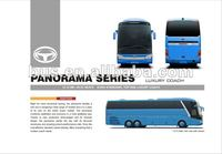 Luxury left hand drive long distance buses to buy (Model CKZ6127CHA3)