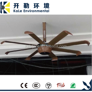 Modern High Quality DC Motor HVLS Large Commercial Ceiling Fan Malaysia Prices