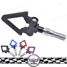 Car Racing Screw Aluminum CNC Triangle Ring Tow Towing Hook