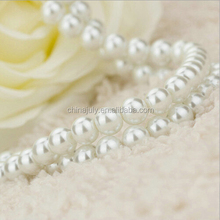 low MOQ stock glass beads pearls strands wholesale