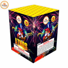 0.8''16 Shots Wholesale Christmas Display Consumer Cake Fireworks
