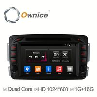 Ownice quad core Android 4.4 car gps navigation system for mercedes benz support TV radio