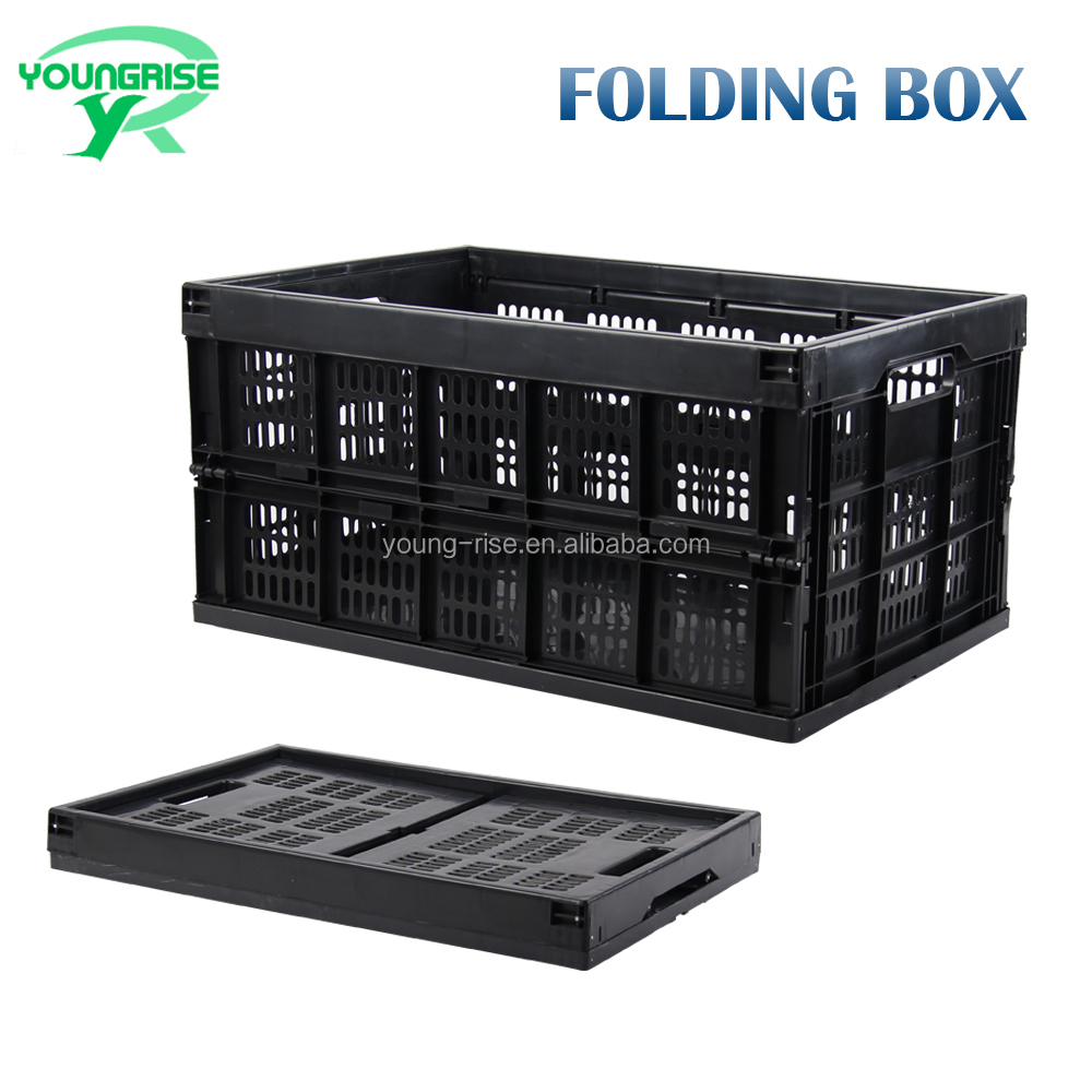 High Quality PP Material agriculture Use fruit Storage Foldable Turnover Crate