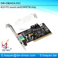 High Quality 4 Channel Cmi8738 Mini
