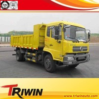 diesel engine 211hp dongfeng 4x2 8t light duty wagon tipper truck for kenya