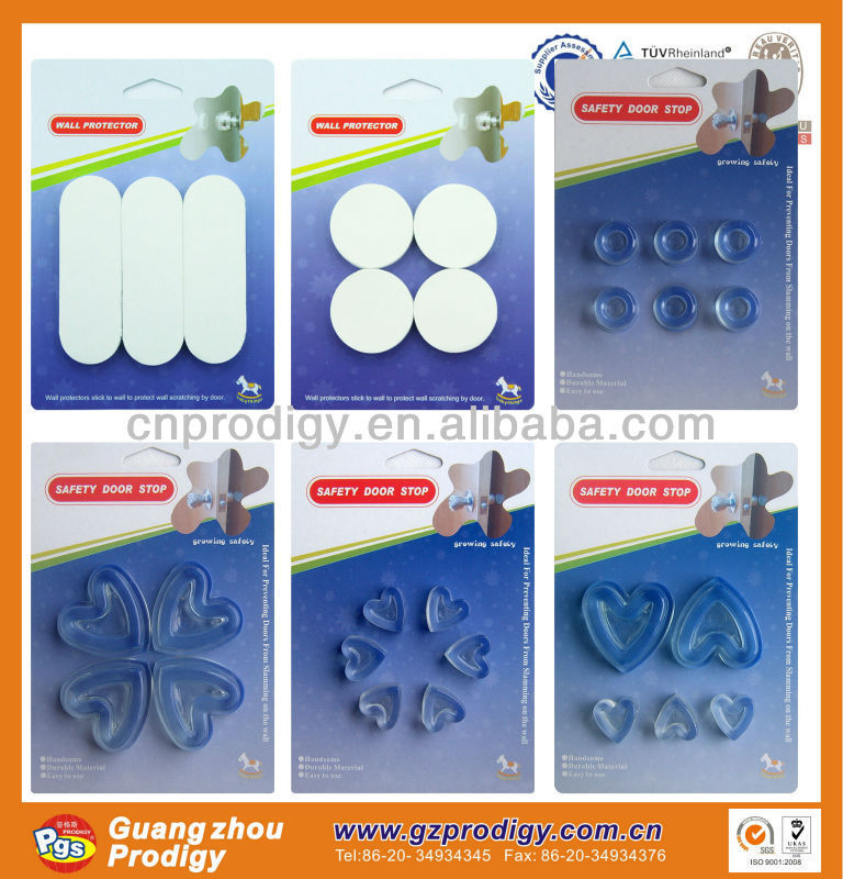 adhesive plastic rubber wall bumpers/adhesive backed foam rubber