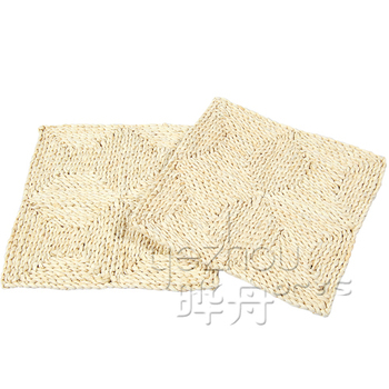 natural camping woven straw floor mats