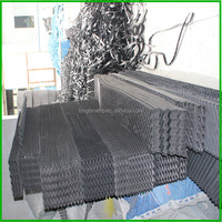 cooling tower filling media for open or closed cooling tower, Length 1200 mm width 300 mm PVC water cooling tower fill