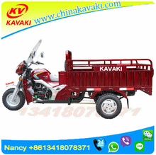 China Cheap Cargo Tricycle For Adult Enclosed Motorcycle For Sale Africa