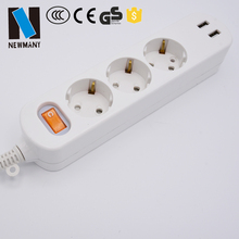 USB Power Strip Multi Outlet for PC Laptop Mobile Phone