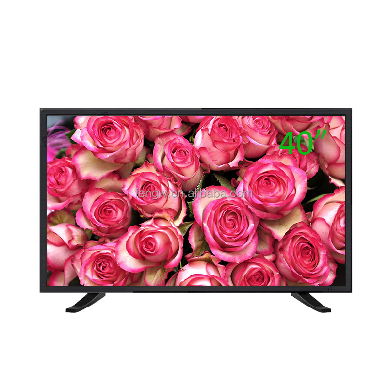 Hot sale 2 HD port 2 USB SMART 32'' 40 inch led tv price in india