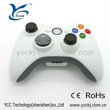 Manufacturer for wireless xbox360 gamepad with white color