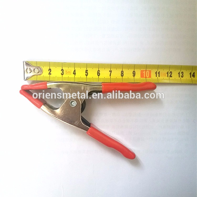 Carbon steel Wood Working Tool A Type fixed spring clamp