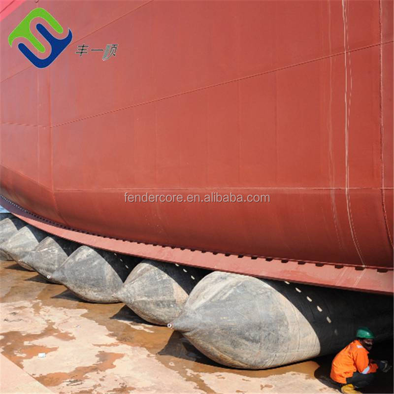 marine safety equipment inflatable airbag for drop ship
