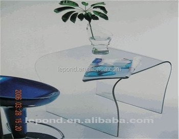 high quality safety tempered curved glass