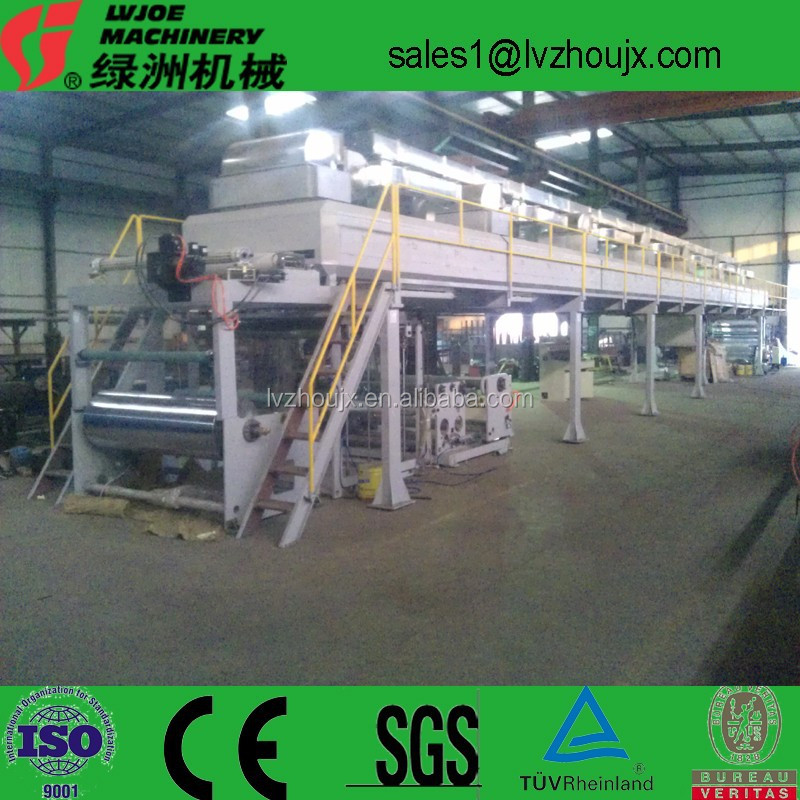 Anilox Roller Coating Head PE Protective Film Coating Machine