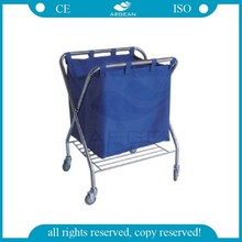 AG-SS023 stainless steel medical instruments cart trolley bag