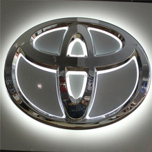 Shanghai Custom Front Light Car Logo Signage