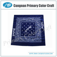 New type High customized polyester bandanna cotton scarf