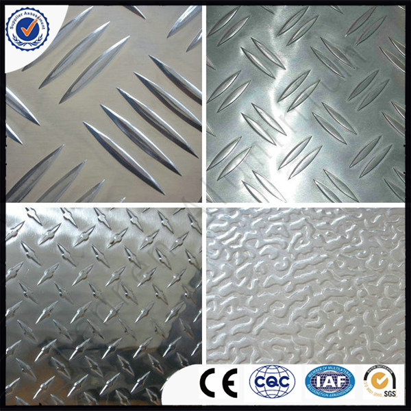 Aluminium Tread/Checker Plate 8011 for Making Bus /Boat /Trailer /Truck