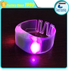 adjustable size easy to wear soft PVC nfc rfid bracelets led for vocal concert
