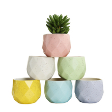 Wholesale Mini Succulent Ceramic Plant Flower Pot for Table