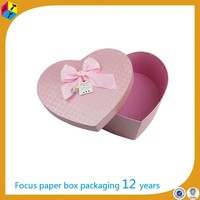 custom recycled packages box of valentine chocolates