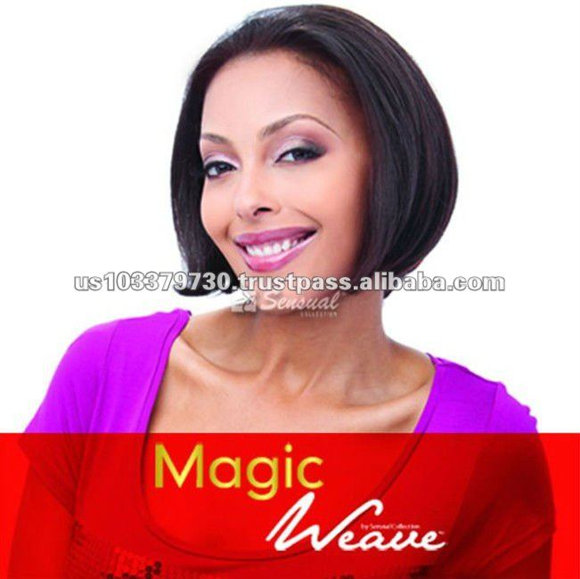 Magic Weave Human Hair Bob Wig
