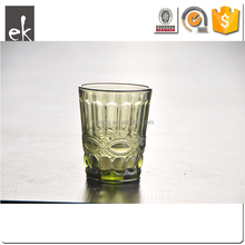 Crystal Cheap Colored Wine Glasses Goblet Cup for Juice Milk Tea