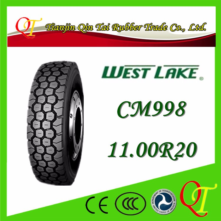 Truck tires all steel radial tire inner tube containing 11.00R20