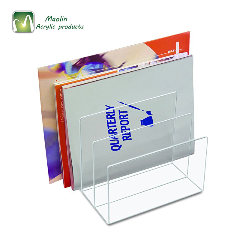 High quality clear office desk accessories file organizer