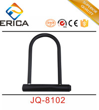 Hot Sell Bicycle Parts Black Hardened Bicycle Steel U-Lock