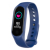 smart bracelet with blood pressure heart rate monitor call/message remind changeable straps
