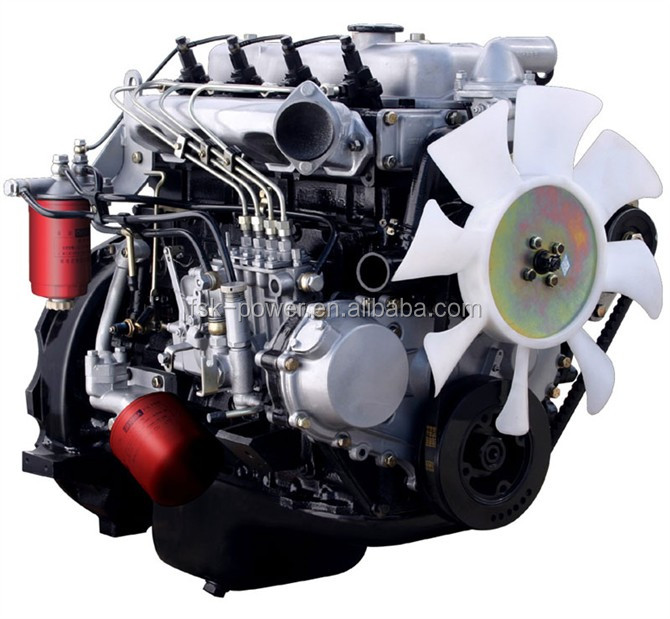 Best price toyota 2l car diesel engine marine car diesel engine with gearbox engine for isuzu 4BDIT Automobile engine